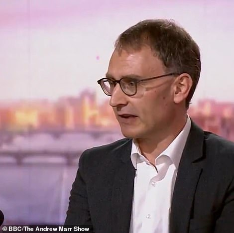 But 'Professor Lockdown' and top SAGE adviser Neil Ferguson warned they were likely to tick upwards in the coming weeks. He said easing restrictions would be a success if cases remained below 100,000