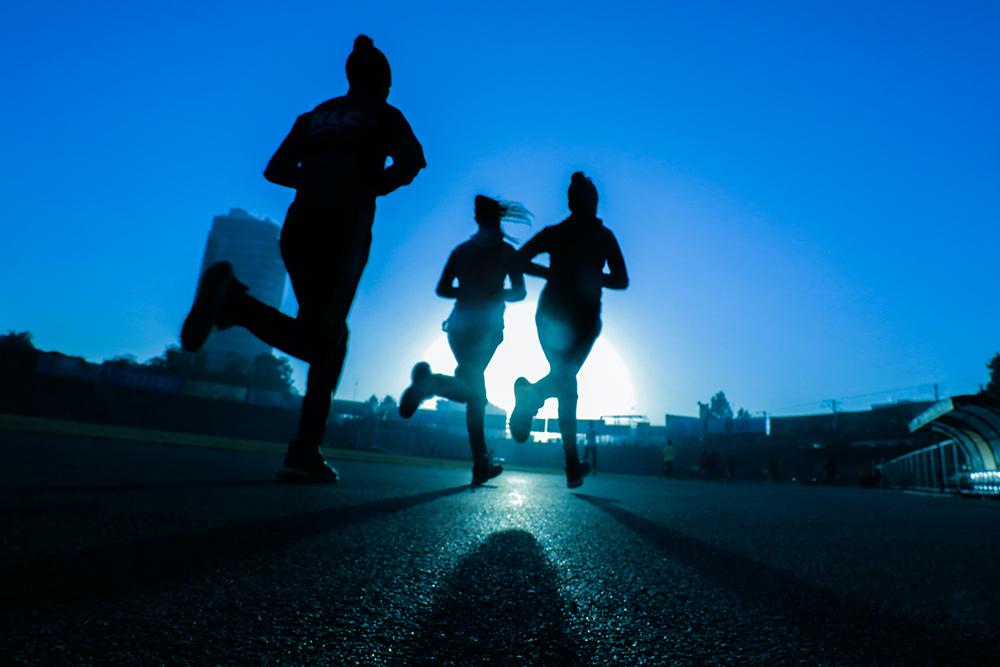 exercise for mental health women running